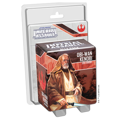 Obi-Wan Kenobi - Imperial Assault Pack-RedQueen.mx