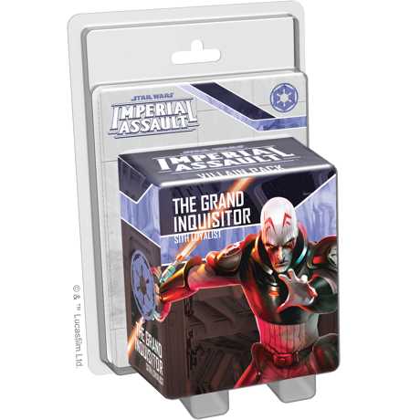 The Grand Inquisitor - Imperial Assault Pack-RedQueen.mx