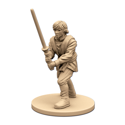 Luke Skywalker Jedi Knight - Imperial Assault Pack-RedQueen.mx