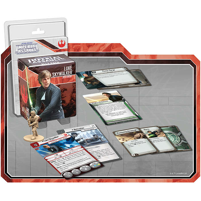 Luke Skywalker Jedi Knight - Imperial Assault Pack - SW Imperial Assault
