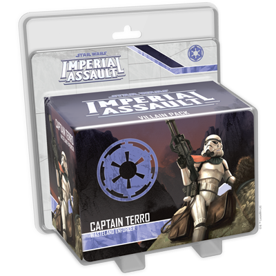 Captain Terro - Imperial Assault Pack - SW Imperial Assault