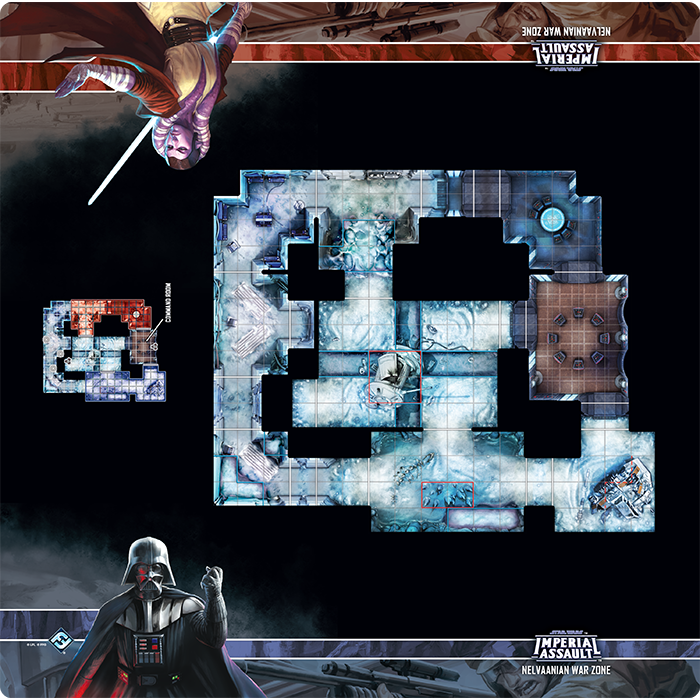 Nelvaanian War Zone - Imperial Assault Skirmish Map - SW Imperial Assault