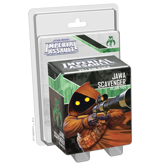 Jawa Scavenger - Imperial Assault Pack-RedQueen.mx