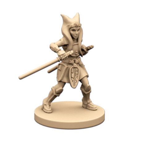 Ahsoka Tano - Imperial Assault Pack-RedQueen.mx