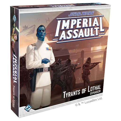 Tyrants of Lothal - Imperial Assault Expansion-RedQueen.mx