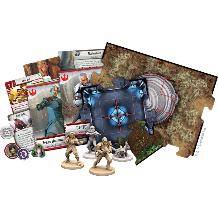 Tyrants of Lothal - Imperial Assault Expansion - SW Imperial Assault