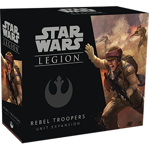 Rebel Troopers Unit - Legion Expansion-RedQueen.mx
