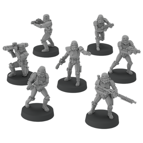 Stormtroopers Unit - Legion Expansion-RedQueen.mx