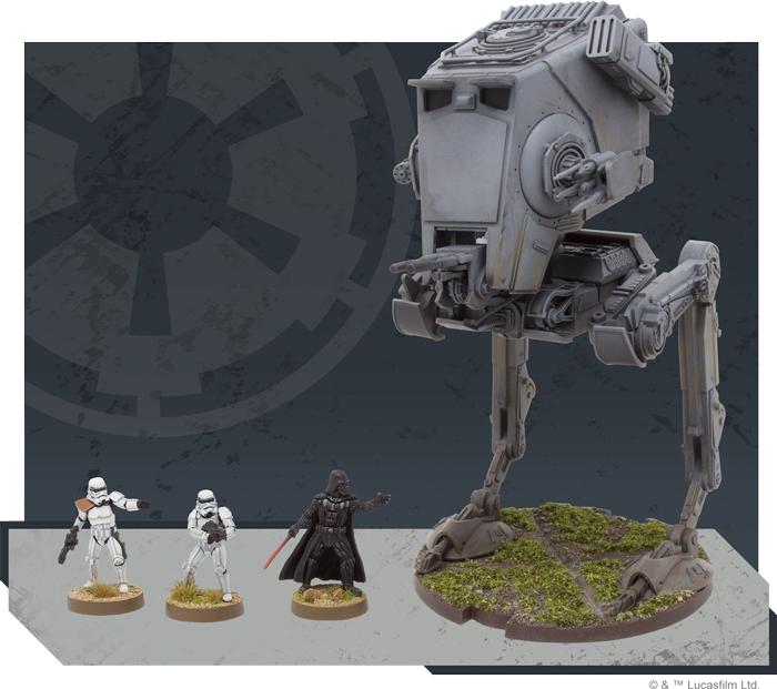 AT-ST Unit - Legion Expansion - SW Legion