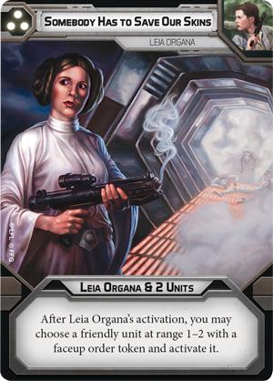 Leia Organa Commander - Legion Expansion - SW Legion