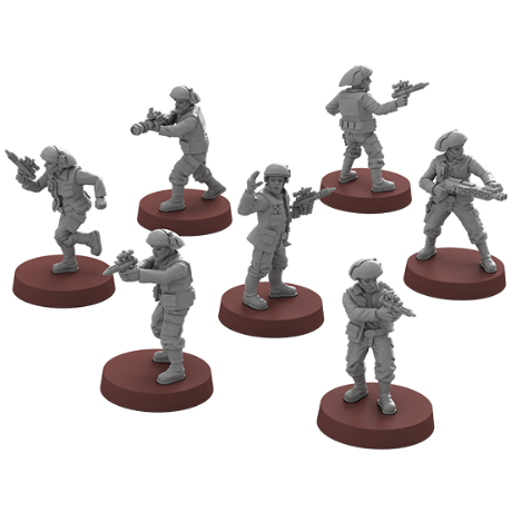 Fleet Troopers Unit - Legion Expansion-RedQueen.mx