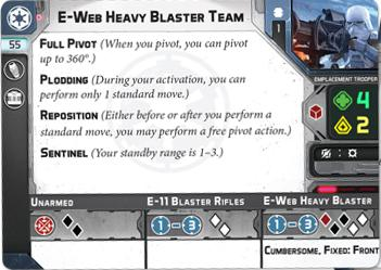 E-Web Heavy Blaster Team Unit - Legion Expansion-RedQueen.mx