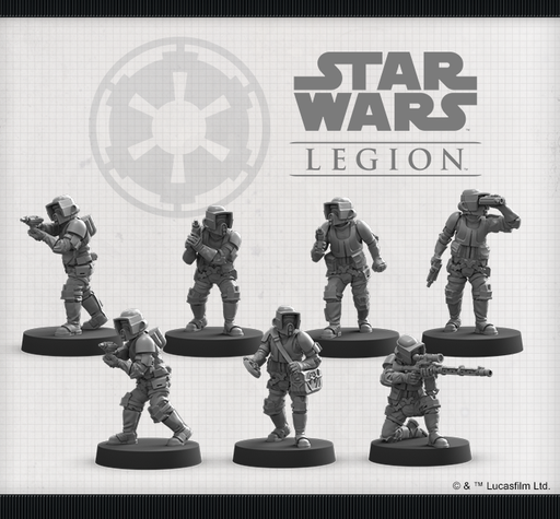 Scout Troopers Unit - Legion Expansion-RedQueen.mx