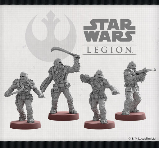 Wookiee Warriors Unit - Legion Expansion - SW Legion
