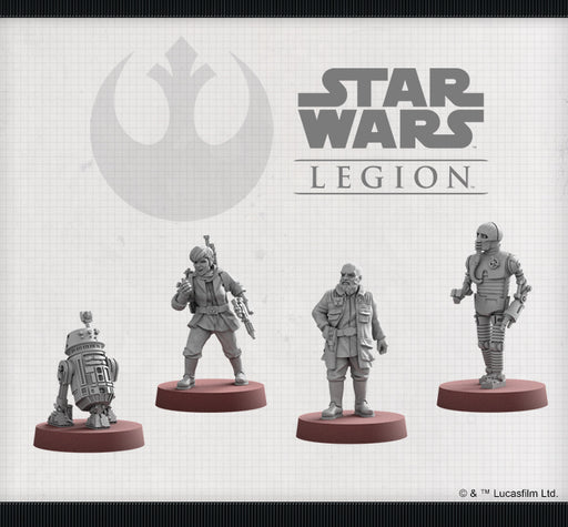 Rebel Specialists Unit - Legion Expansion - SW Legion