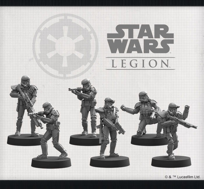 Imperial Death Troopers Unit - Legion Expansion - SW Legion
