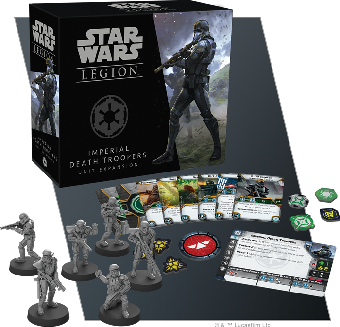 Imperial Death Troopers Unit - Legion Expansion-RedQueen.mx
