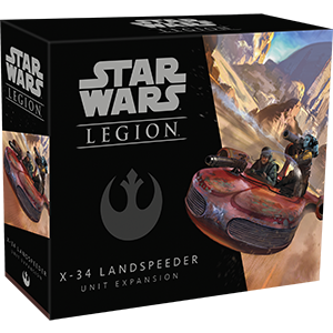 X-34 Landspeeder Unit - Legion Expansion - redqueen-mx