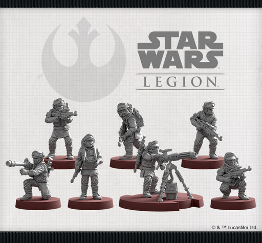 Rebel Veterans Unit - Legion Expansion - SW Legion