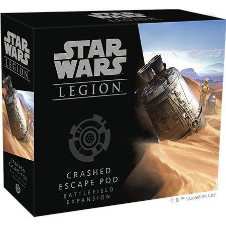 Crashed Escape Pod - Legion Battlefield Expansion-RedQueen.mx