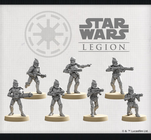 Phase I Clone Troopers Unit - Legion Expansion - SW Legion