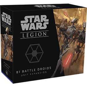 B1 Battle Droids Unit - Legion Expansion - SW Legion