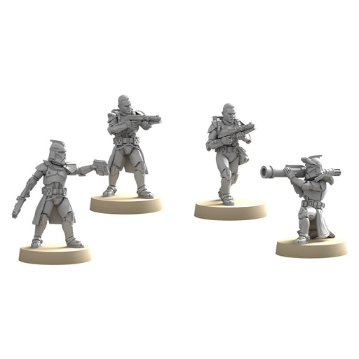 Phase I Clone Troopers - Legion Upgrade Expansion-RedQueen.mx