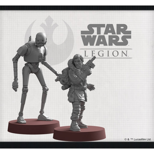 Cassian Andor and K-2SO - Legion Commander Expansion-RedQueen.mx