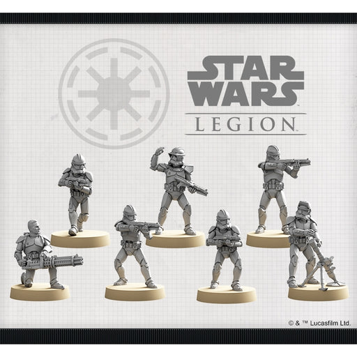 Phase II Clone Troopers - Legion Unit Expansion-RedQueen.mx