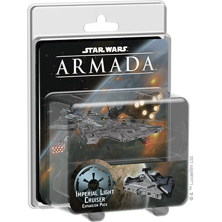 Imperial Light Cruiser - Armada Expansion-RedQueen.mx