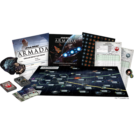 The Corellian Conflict - Armada Campaign Expansion-RedQueen.mx