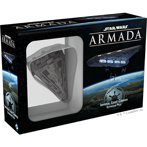 Imperial Light Carrier - Armada Expansion-RedQueen.mx