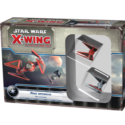 Imperial Aces - X-Wing Expansion-RedQueen.mx