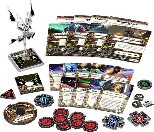 StarViper - X-Wing Expansion-RedQueen.mx