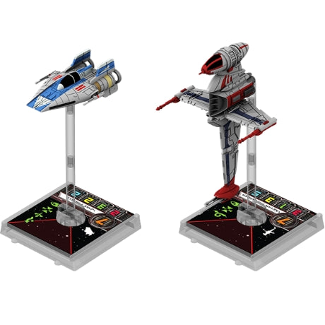 Rebel Aces - X-Wing Expansion-RedQueen.mx