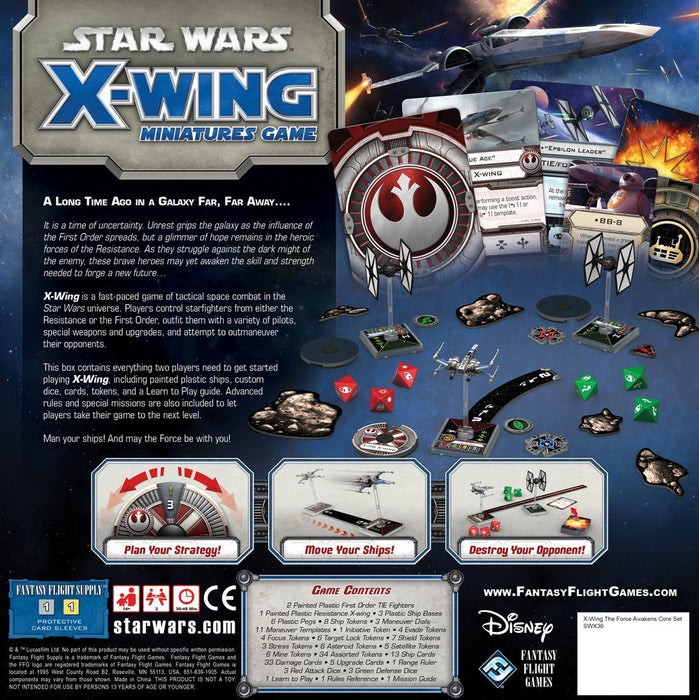 The Force Awakens - X-Wing Core Set - SW X-Wing