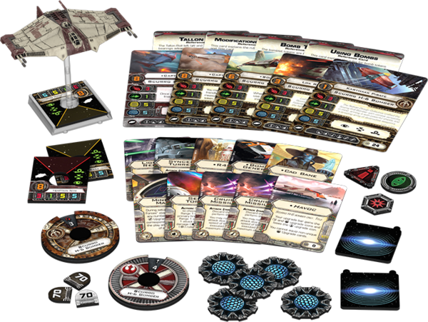 Scurrg H-6 Bomber - X-Wing Expansion - SW X-Wing
