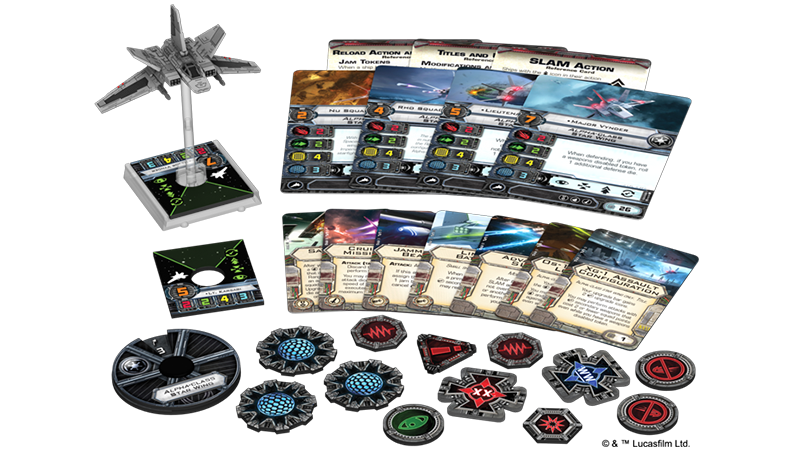 Alpha-class Star Wing - X-Wing Expansion - SW X-Wing