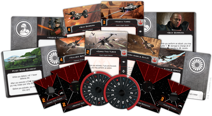 Saw's Renegades - X-Wing 2E Expansion - SW X-Wing