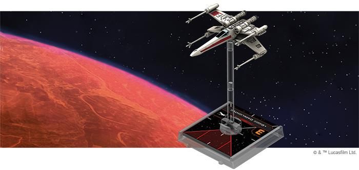 T-65 X-Wing - X-Wing 2E Expansion-RedQueen.mx