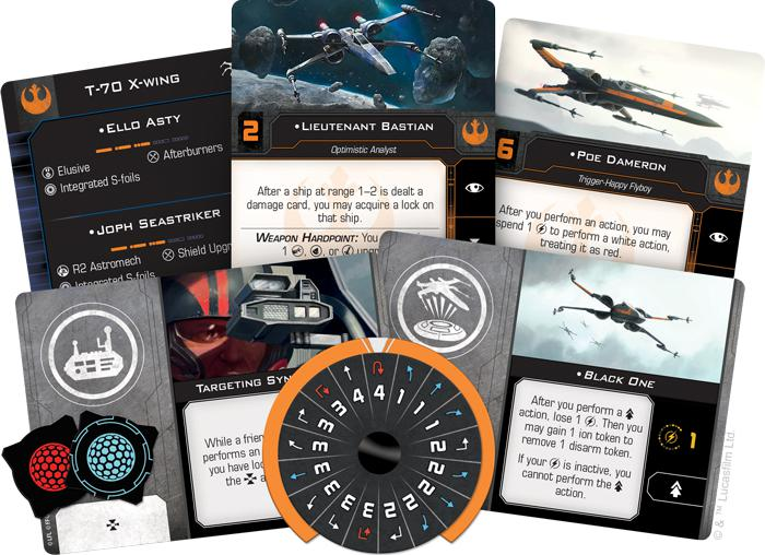 T-70 X-Wing - X-Wing 2E Expansion-RedQueen.mx