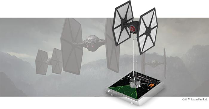 TIE/fo Fighter - X-Wing 2E Expansion - SW X-Wing