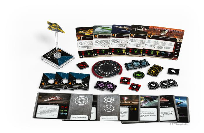Delta-7 Aethersprite - X-Wing 2E Expansion - SW X-Wing