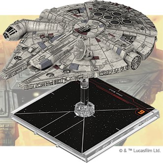 Millennium Falcon - X-Wing 2E Expansion - SW X-Wing