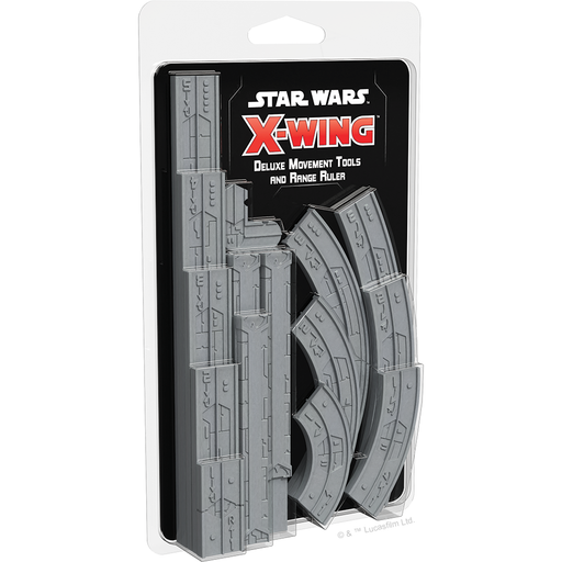 Deluxe Movement Tools and Range Ruler - X-Wing 2E Upgrade Kit - SW X-Wing