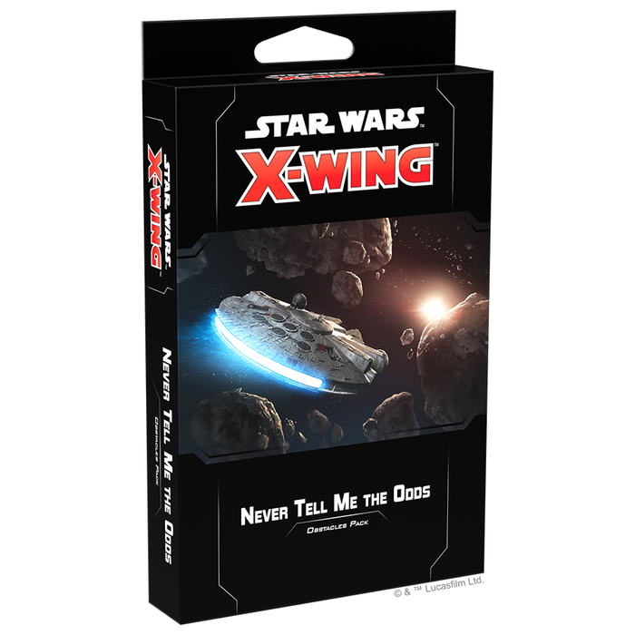 Never Tell Me the Odds - X-Wing 2E Obstacles Pack-RedQueen.mx