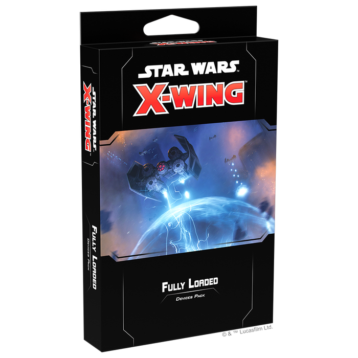 Fully Loaded - X-Wing 2E Devices Pack-RedQueen.mx