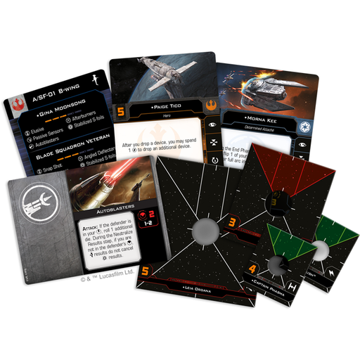 Hotshots and Aces Reinforcements - X-Wing 2E Expansion Pack-RedQueen.mx