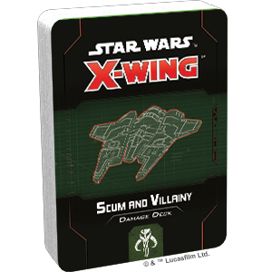 Scum and Villainy Damage Deck - X-Wing 2E Pack-RedQueen.mx