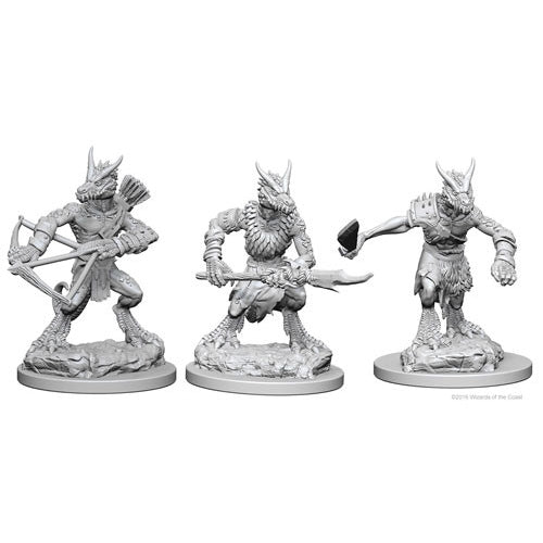 Kobolds (3) - D&D Miniatures-RedQueen.mx